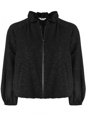 Куртка-бомбер на молнии Liu Jo. Цвет: черный