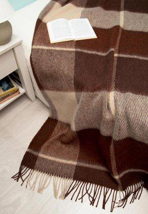 Плед Arloni 200*170 см. Цвет: коричневый