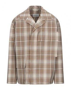 Пиджак MAISON MARGIELA. Цвет: бежевый