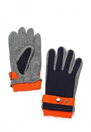 Перчатки Mango Man - DAVID. Цвет: синий