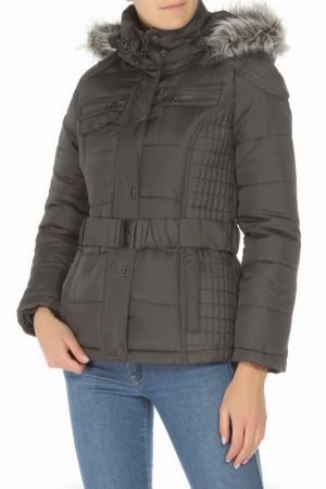 Куртка URBAN REPUBLIC. Цвет: серый