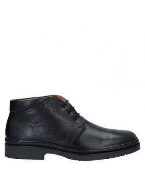 Полусапоги и высокие ботинки BOOMERANG. Цвет: черный