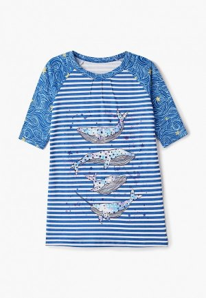 Сорочка ночная Mark Formelle. Цвет: синий