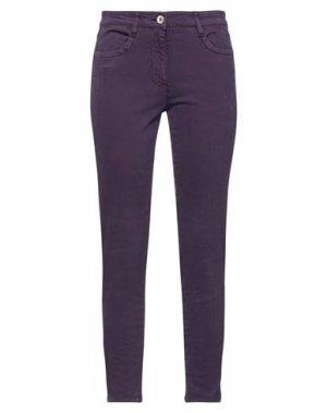 Повседневные брюки HENRY COTTON'S. Цвет: темно-фиолетовый