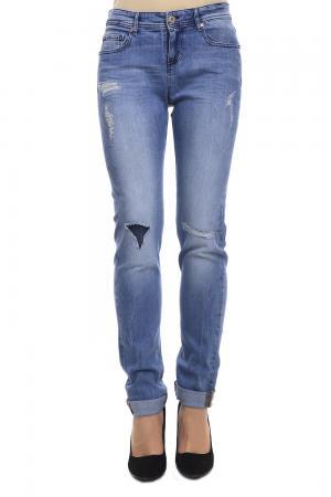Модные джинсы Boss Orange. Цвет: голубой