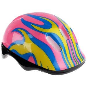 Шлем защитный детский ot-h6, размер m (55-58 см), цвет розовый ONLITOP