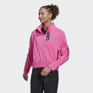 Олимпийка Sportswear Primeblue adidas. Цвет: розовый