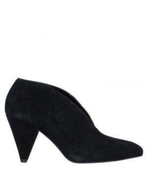 Ботинки FORNARINA. Цвет: черный