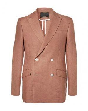 Пиджак FAVOURBROOK. Цвет: ржаво-коричневый