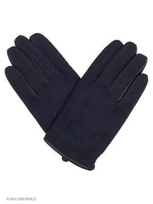 Перчатки - TASILLO MANGO MAN. Цвет: темно-синий