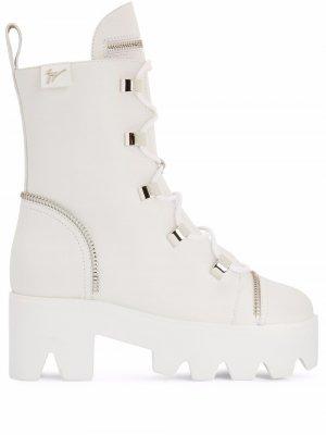 Ботинки Juliett Giuseppe Zanotti. Цвет: белый