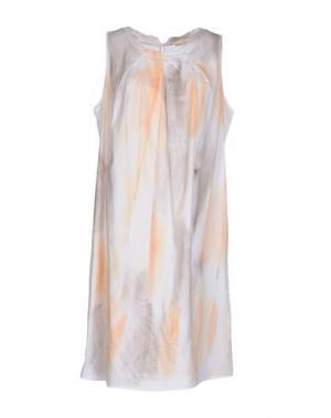 Короткое платье LIM. Цвет: белый
