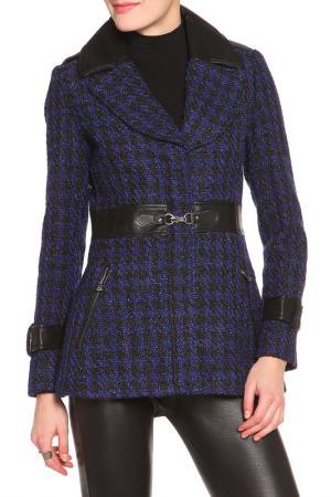 Пальто Jessica Simpson. Цвет: blue, black