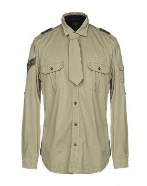 Pубашка MASON'S. Цвет: зеленый-милитари