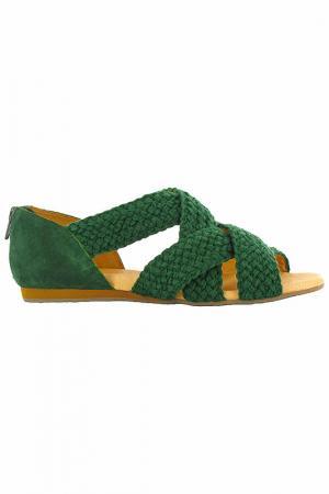 Босоножки Flip Flop. Цвет: зеленый