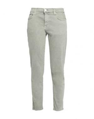Джинсовые брюки CURRENT/ELLIOTT. Цвет: зеленый-милитари