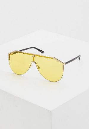 Очки солнцезащитные Gucci GG0584S 004. Цвет: желтый