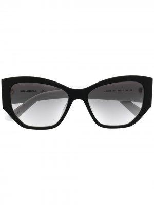Солнцезащитные очки Mr. Lagerfeld Icon Karl. Цвет: черный