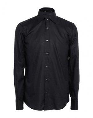 Pубашка BOSS HUGO. Цвет: черный
