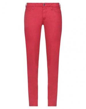 Повседневные брюки FORNARINA. Цвет: красный