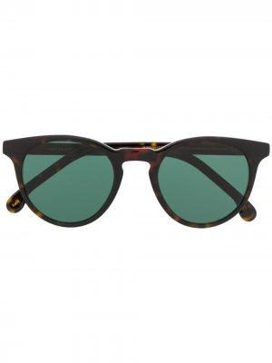 Солнцезащитные очки Archer PAUL SMITH. Цвет: коричневый