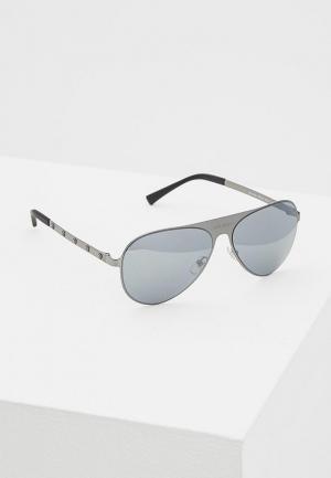 Очки солнцезащитные Versace VE2189 12626G. Цвет: серый