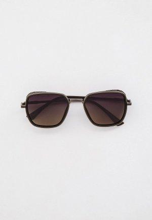 Очки солнцезащитные Havvs HV68035. Цвет: коричневый