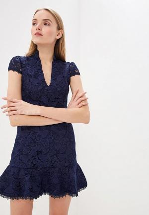 Платье Alice + Olivia. Цвет: синий