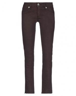 Джинсовые брюки DL1961. Цвет: темно-коричневый