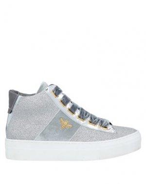 Кеды и кроссовки JARRETT. Цвет: серый