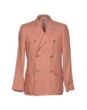 Пиджак UMIT BENAN. Цвет: кирпично-красный