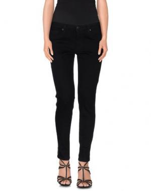 Джинсовые брюки HUDSON. Цвет: черный