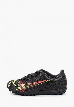 Шиповки Nike JR VAPOR 14 ACADEMY TF. Цвет: черный