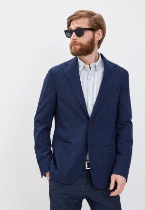 Пиджак Corneliani TRAVEL TAG. Цвет: синий