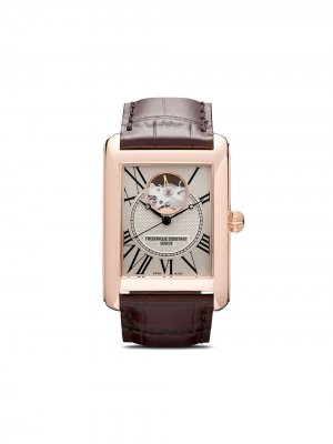 Наручные часы Classics Carrée Automatic 30.4 x 33.3 мм Frédérique Constant. Цвет: белый