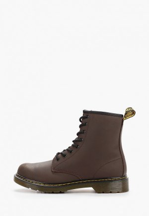 Ботинки Dr. Martens 1460 Serena Y - Youth Lace Boot. Цвет: коричневый