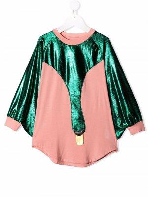 Платье Drama Queen WAUW CAPOW by BANGBANG. Цвет: розовый