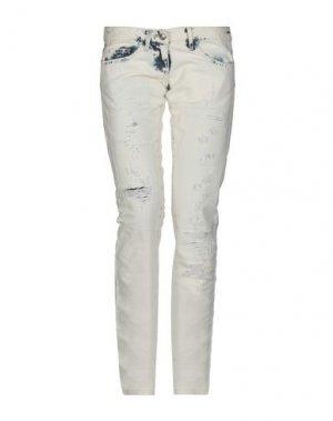 Джинсовые брюки BETTY BLUE. Цвет: синий