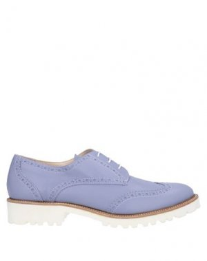 Обувь на шнурках ERNESTO ESPOSITO. Цвет: сиреневый