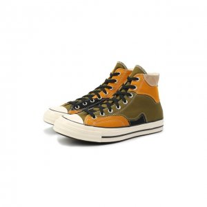Текстильные кеды Chuck 70 Converse. Цвет: разноцветный