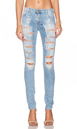 Узкие джинсы blake Acquaverde. Цвет: none