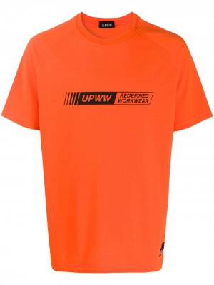 Футболка с логотипом U.P.W.W.. Цвет: оранжевый