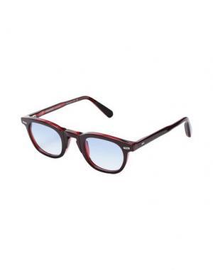 Солнечные очки MOVITRA. Цвет: красно-коричневый