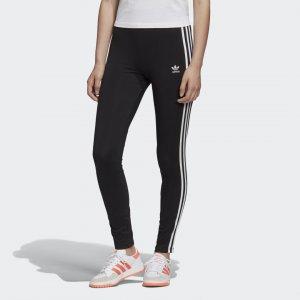 Леггинсы Adicolor 3-Stripes Originals adidas. Цвет: черный