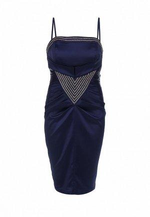 Платье Corleone. Цвет: синий