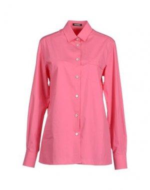 Рубашка с длинными рукавами DIRK BIKKEMBERGS. Цвет: светло-фиолетовый