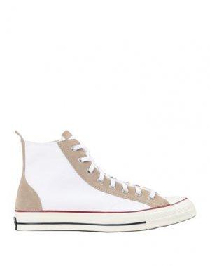 Кеды и кроссовки CONVERSE. Цвет: белый