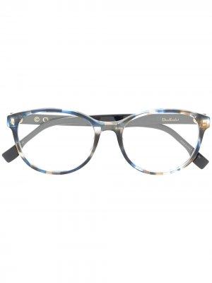 Очки Etoile 1 в круглой оправе Dior Eyewear. Цвет: синий