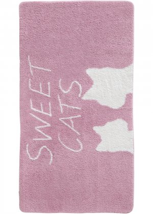 Коврик для ванной bonprix. Цвет: розовый