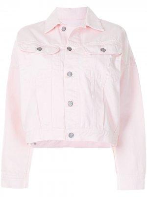 Джинсовая куртка Ryder Boyish Jeans. Цвет: розовый